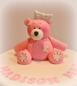 Pink Tatty Teddy