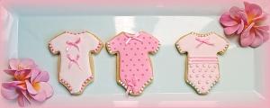 3 Pink Onesies