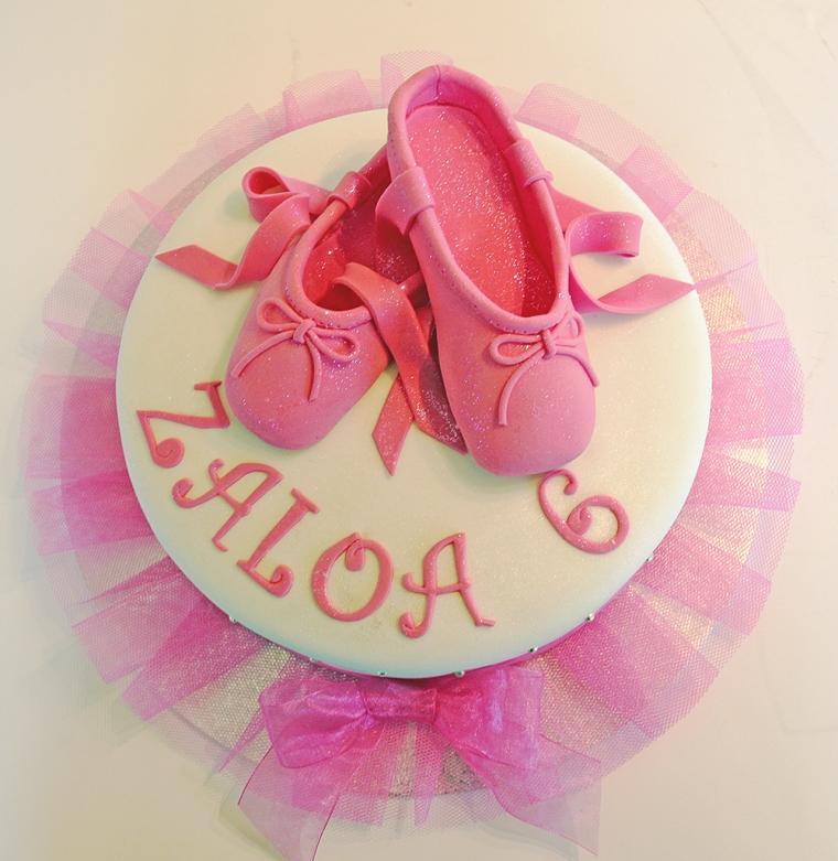 Ballerina Shoes Cake