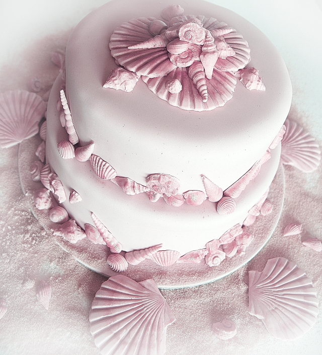 Beach Cake pink