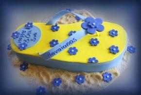 Blue Thong Cake