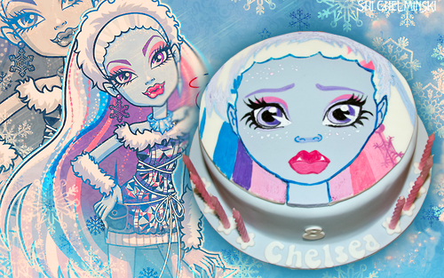 Abbey Monster High Cake