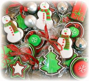 Christmas Tree Decoration Cookies