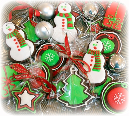 Christmas Tree Decoration Cookies