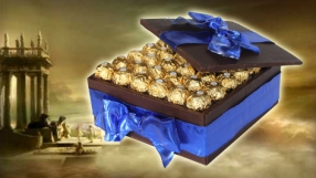 Ferrera Rocher Chocolate Box Cake