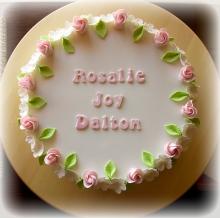 Floral Edge Cake