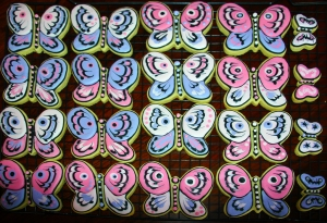 Full tray of Butterfly Cookies 1mb