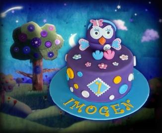 Hootabelle Cake