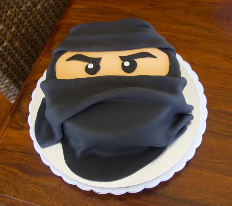 Black Ninja Cake