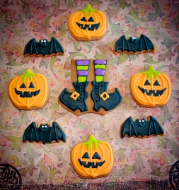 Pumpkins, bats and witches' boots