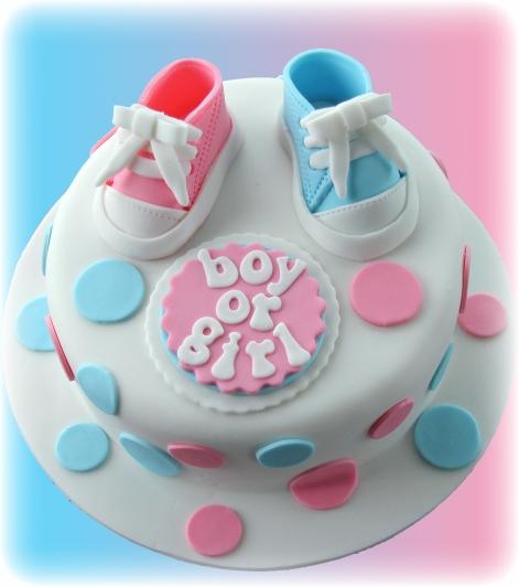 Baby Reveal Cake