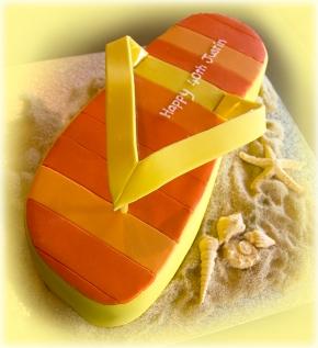 Stripe Thong Cake