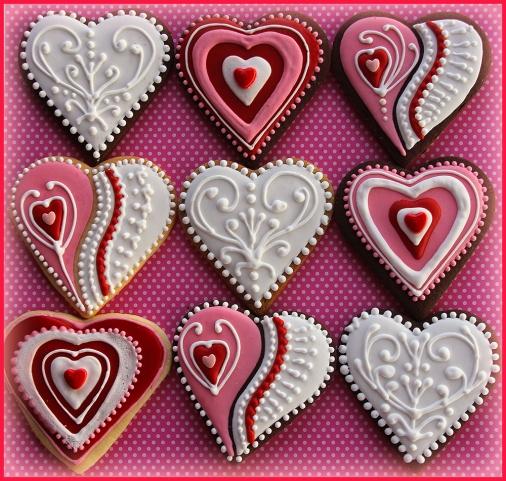 More Valentine Hearts