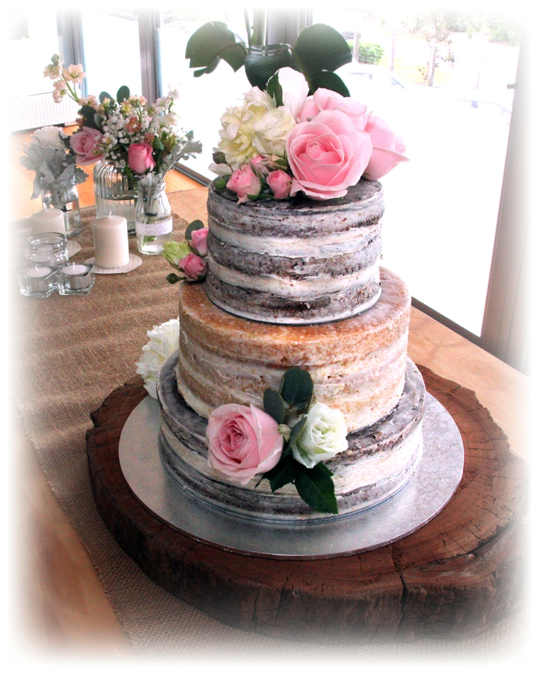 chocolate wedding cake with pink flowers wedding cakes cakes 12811