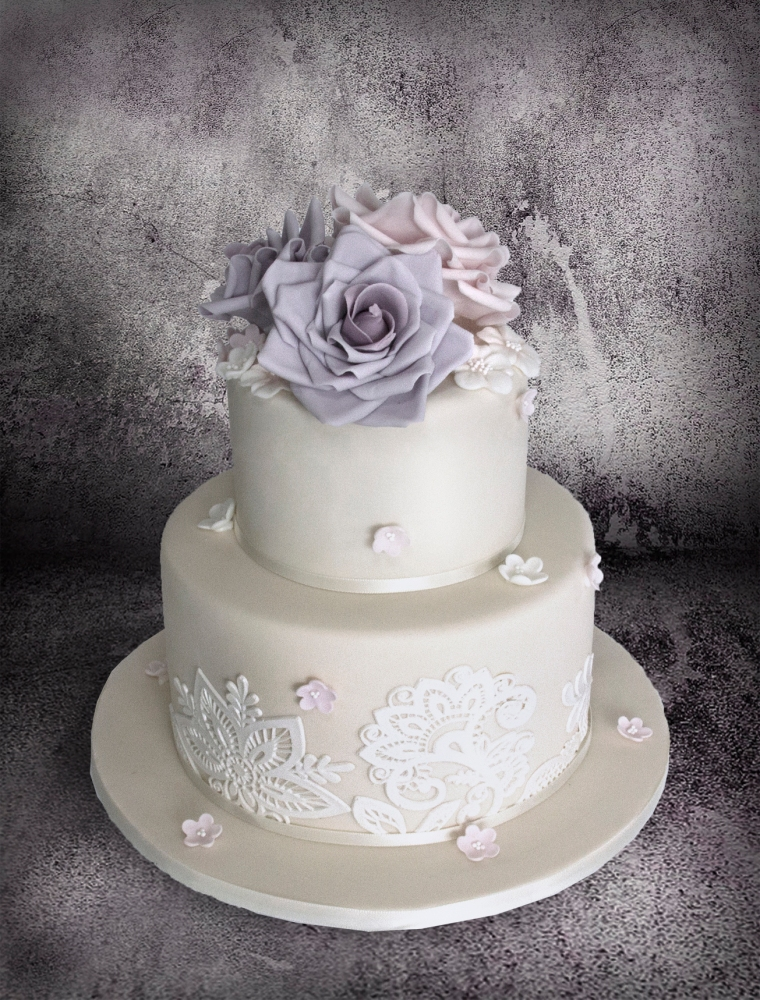 Sugar Roses and Baroque Lace