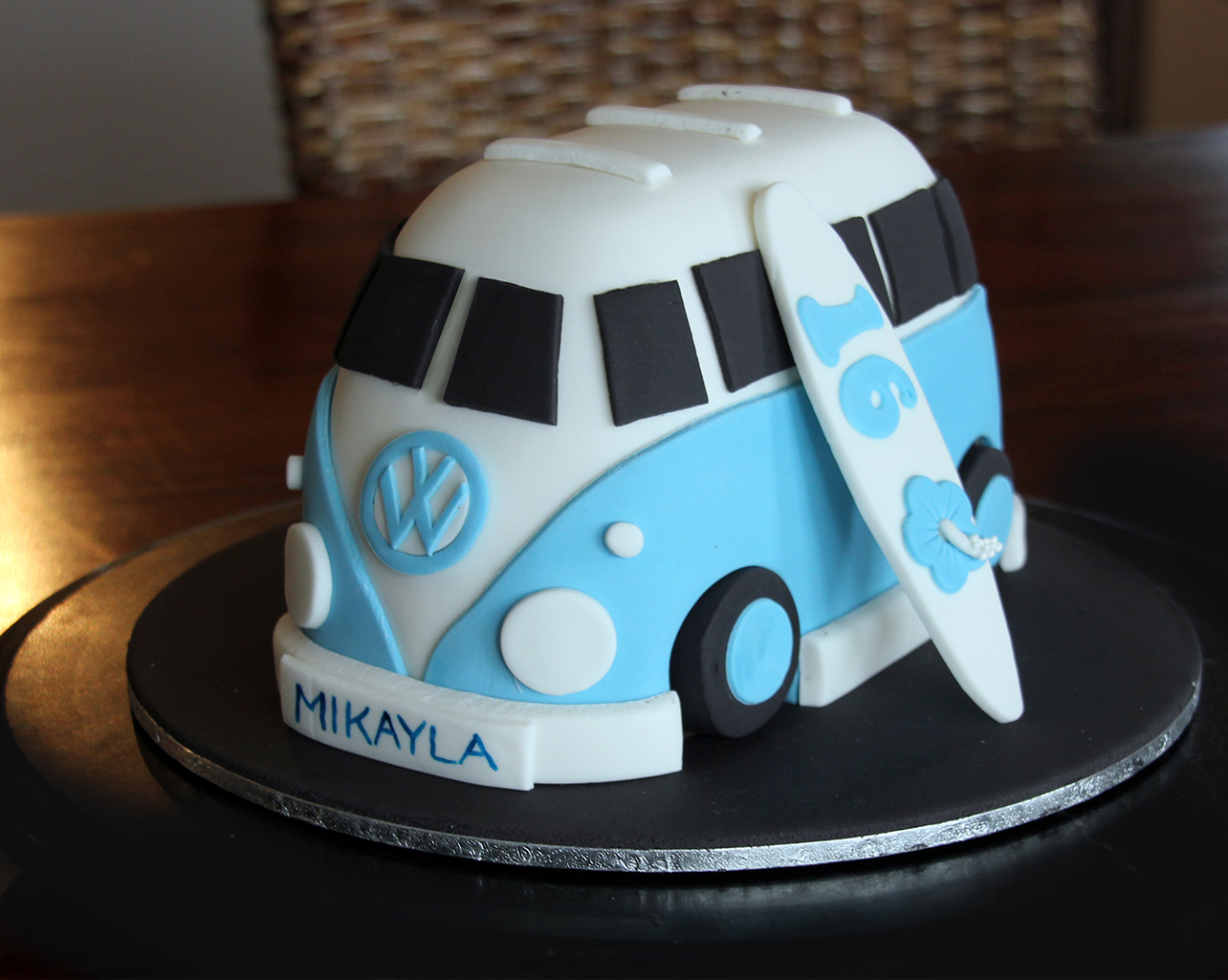 Cute Vw Kombi Cake Tutorial Cakes
