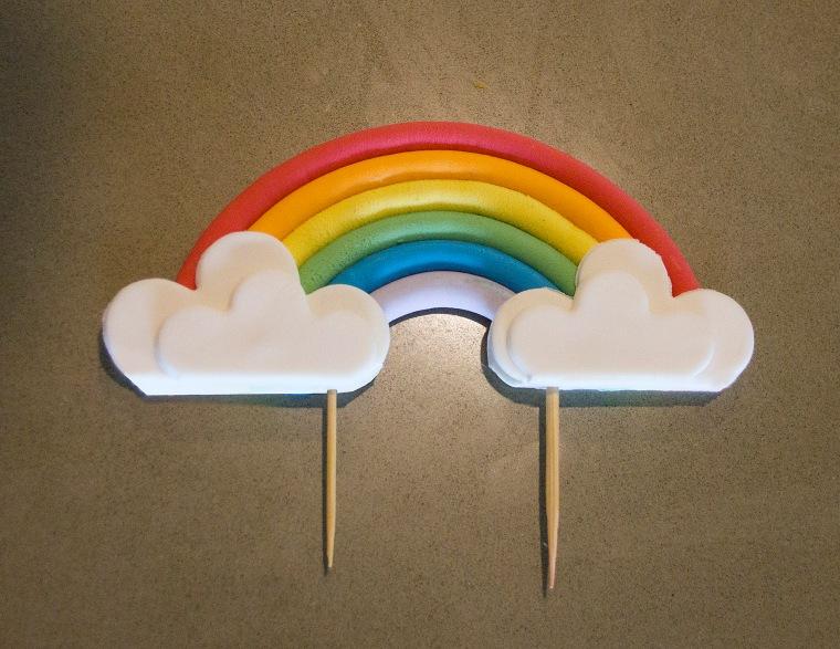 Rainbow Topper
