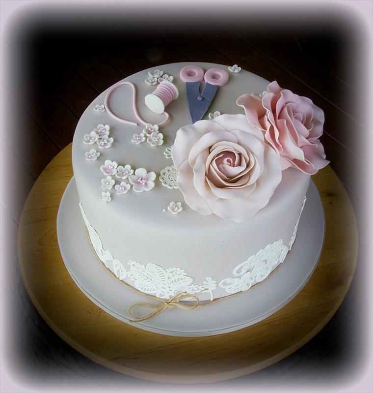 Needlework Cake